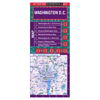 Washington D.C. Laminated Street Map