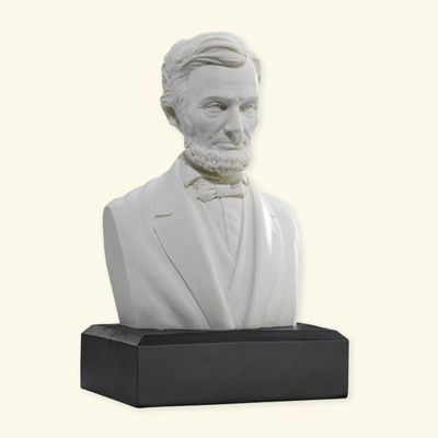 "Abraham Lincoln 6"" Marble Bust"