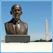 """Barack Obama 6"""" Bronze Bust"""