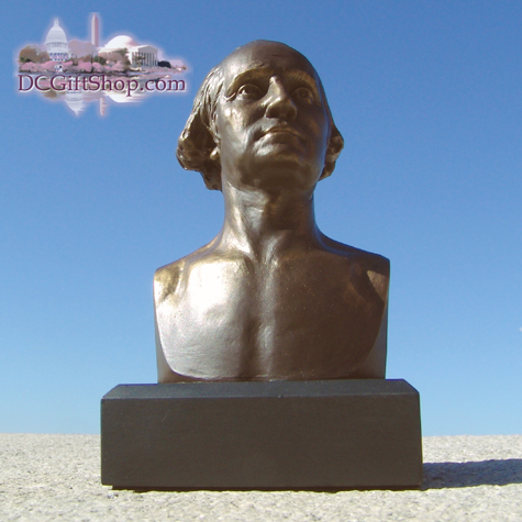 6 Inch George Washington Bust