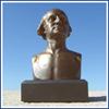 "George Washington 6"" Bronze Bust"