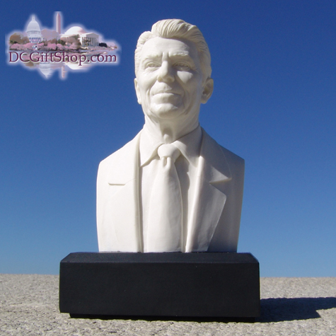 "Ronald Reagan 6"" Marble Bust"