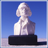 "Thomas Jefferson 6"" Marble Bust"