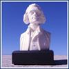 "Thomas Jefferson 6"" Marble Bust"