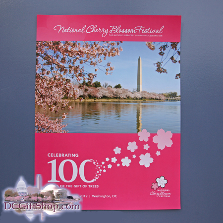 100th Anniversary Cherry Blossom Poster