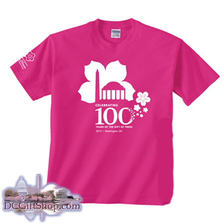 100th Anniversary Cherry Blossom T-Shirt