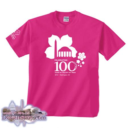 100th Anniversary Cherry Blossom T-Shirt