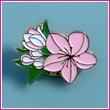 2008 National Cherry Blossom Festival Lapel Pin