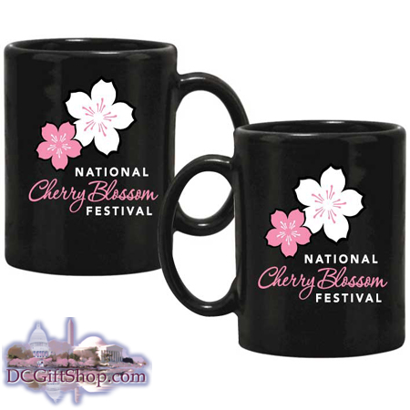 National Cherry Blossom Festival Logo Mug
