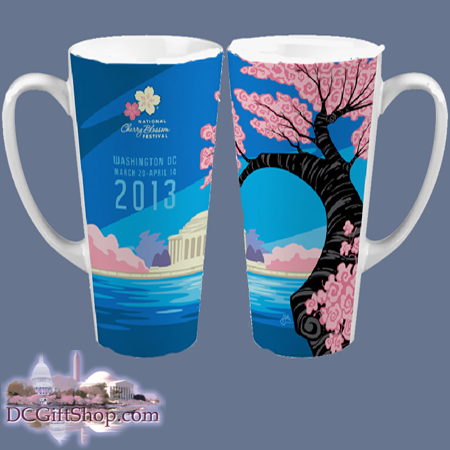 2013 Official National Cherry Blossom Festival Tall Mug