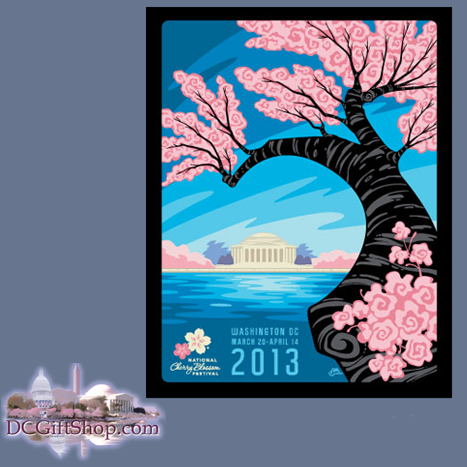 2013 National Cherry Blossom Festival Print