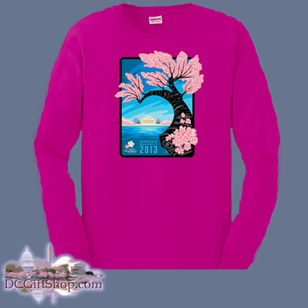 Cherry Blossom Long Sleeve Shirt