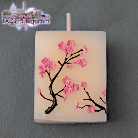 Cherry Blossom Candles Set of Four