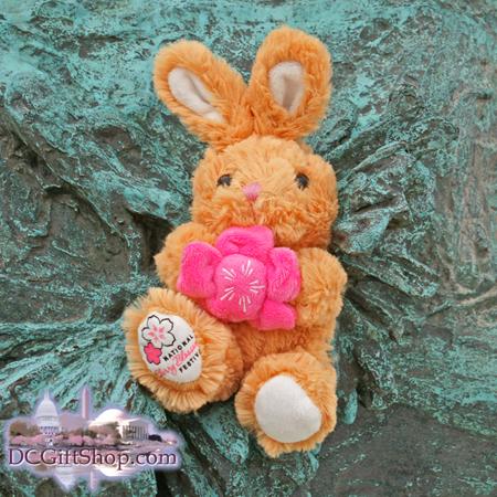 Cherry Blossom Festival Stuffed Rabbit
