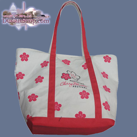 Cherry Blossom Festival Canvas Tote Bag