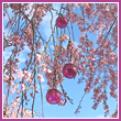 Cherry Blossom Spring Glass Balls