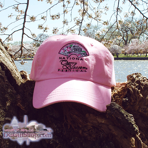 National Cherry Blossom Festival Hat (Pink)