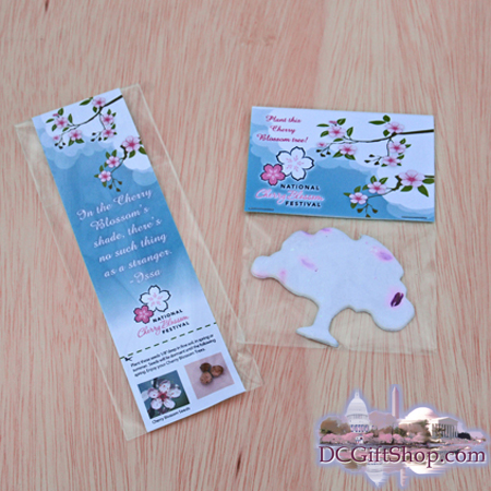 Cherry Blossom Tree Seed and Bookmark