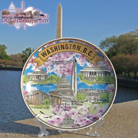 Washington DC Souvenir Plate