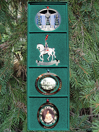 1990-1993 White House Set of Four Ornaments