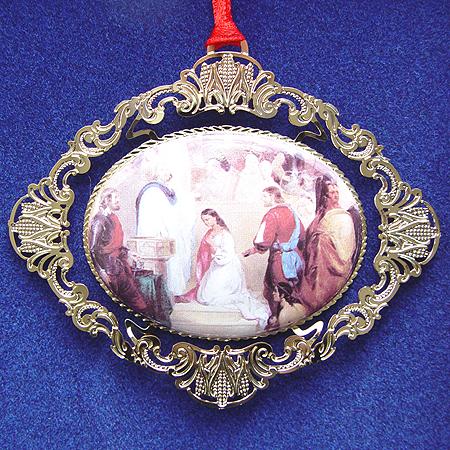 1997 Baptism of Pocahontas Ornament