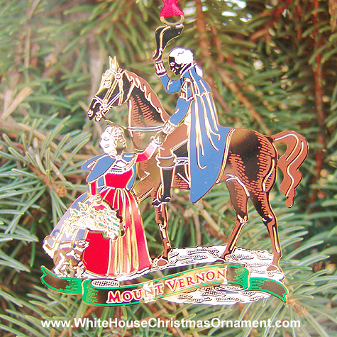 2002 Mount Vernon The Homecoming Ornament