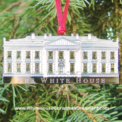 2002 White House Ornament North Portico