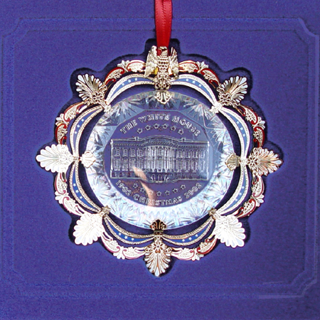 2002 White House Roosevelt 1902 Ornament.