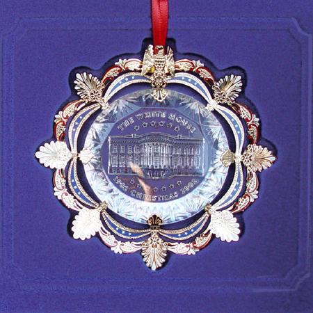 2002 White House Roosevelt 1902 Ornament.