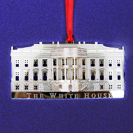 2002 White House South Portico Ornament