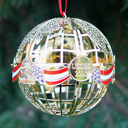 2003 Capitol Sphere Ornament