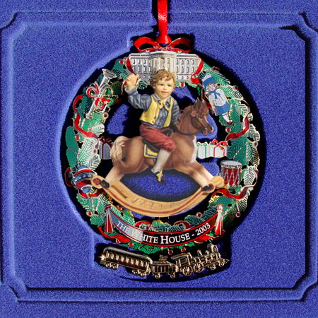 2003 White House Ulysses S Grant Ornament