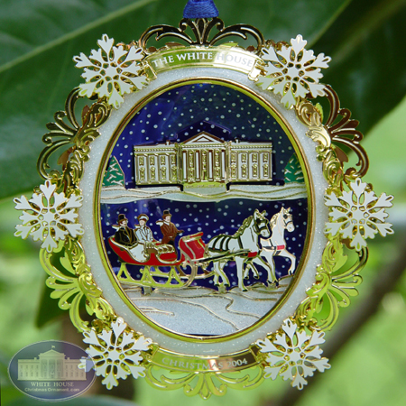 The Official 2004 White House Rutherford B. Hayes Ornament