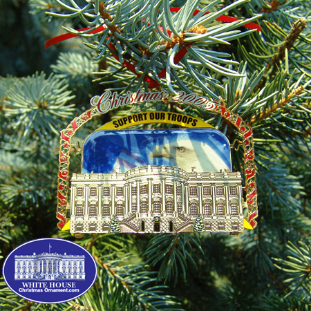 Purchase your Support Our Troops Ornament online at www.dcgiftshop.com