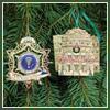 2006 Secret Service Ornament Gift Set