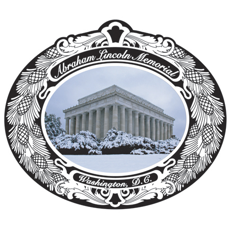 2008 Abraham Lincoln Memorial Ornament