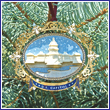 2008 US Capitol Oval Marble Ornament