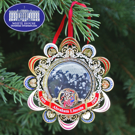 2008 Abraham Lincoln Second Inaugural Address Ornament