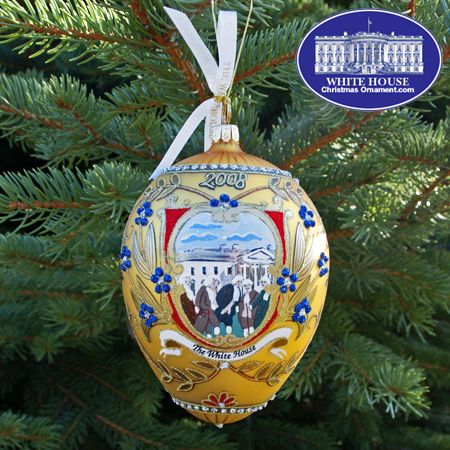 2008 George Washington Administration Ornament