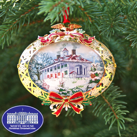 2008 Mount Vernon 150th Anniversary Ornament