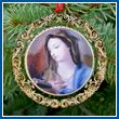 2008 Mount Vernon Virgin Mary Ornament