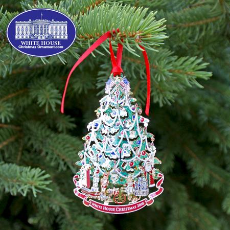 2008 White House Benjamin Harrison Ornament