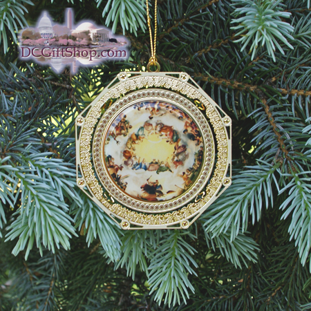 3rd Edition US Capitol Apotheosis of George Washington Ornament