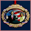 Barack Obama Inauguration Ornament