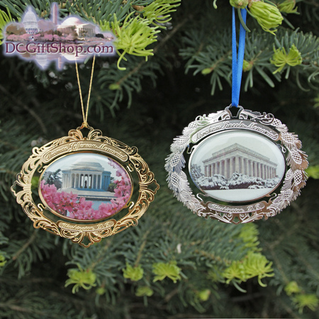 2009 Washington DC Memorial Ornament Set