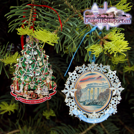 2009 White House Historical Ornament Set