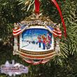 White House 2010 William McKinley Christmas Ornament