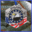 Made In America Display Ornament