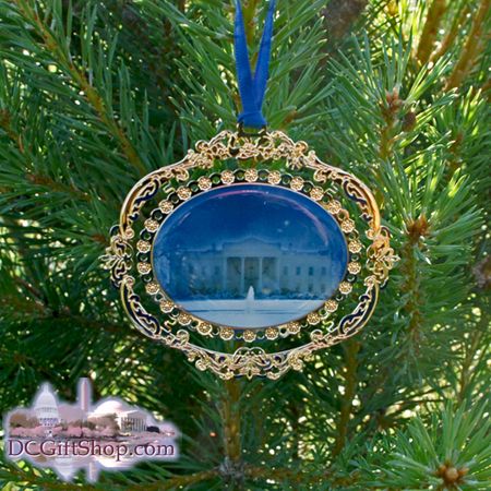 White House 2010 North Portico Ornament