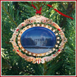 White House 2010 South Portico Ornament